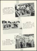 1955 Fair Lawn High School Yearbook Page 104 & 105
