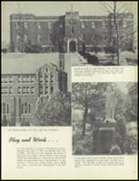 1950 La Salle College High School Yearbook Page 12 & 13