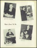 1950 La Salle College High School Yearbook Page 20 & 21