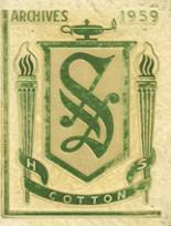 1959 Yearbook Smith-Cotton High School