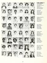 1982 Northwood Middle School Yearbook Page 24 & 25