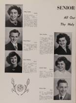 1952 St. George High School Yearbook Page 16 & 17