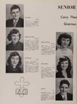 1952 St. George High School Yearbook Page 18 & 19