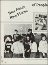 1985 Clinton High School Yearbook Page 34 & 35