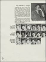 1985 Clinton High School Yearbook Page 52 & 53