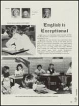1985 Clinton High School Yearbook Page 66 & 67