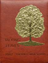 1987 Yearbook Cherokee High School