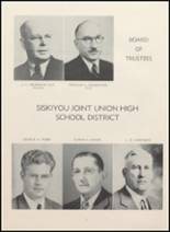 1949 Yreka High School Yearbook Page 14 & 15