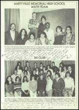 1982 Amityville Memorial High School Yearbook Page 62 & 63