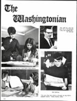 1969 Washington High School Yearbook Page 154 & 155