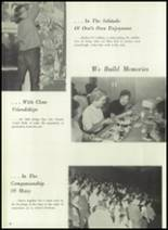 1961 Coldwater High School Yearbook Page 10 & 11