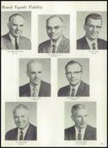 1961 Coldwater High School Yearbook Page 22 & 23