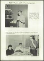 1961 Coldwater High School Yearbook Page 36 & 37