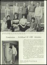 1961 Coldwater High School Yearbook Page 58 & 59