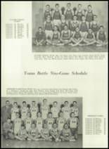 1961 Coldwater High School Yearbook Page 100 & 101