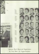 1961 Coldwater High School Yearbook Page 154 & 155
