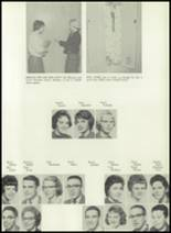 1961 Coldwater High School Yearbook Page 156 & 157