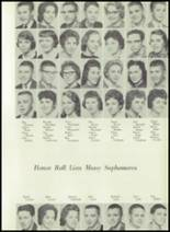 1961 Coldwater High School Yearbook Page 162 & 163