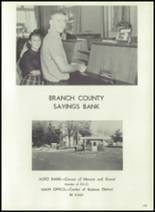 1961 Coldwater High School Yearbook Page 180 & 181