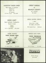 1961 Coldwater High School Yearbook Page 184 & 185