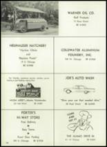 1961 Coldwater High School Yearbook Page 186 & 187