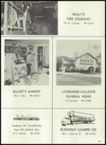 1961 Coldwater High School Yearbook Page 190 & 191