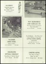 1961 Coldwater High School Yearbook Page 200 & 201