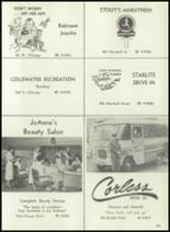 1961 Coldwater High School Yearbook Page 206 & 207
