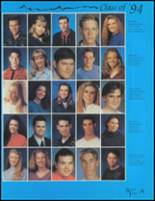 1994 Camas High School Yearbook Page 68 & 69