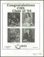 1994 Camas High School Yearbook Page 158 & 159