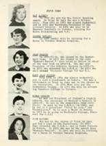 1954 Port Perry High School Yearbook Page 34 & 35