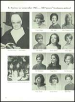 1968 Academy of Notre Dame Yearbook Page 62 & 63