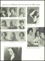 1968 Academy of Notre Dame Yearbook Page 64 & 65
