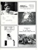 1984 Woodward Academy Yearbook Page 310 & 311