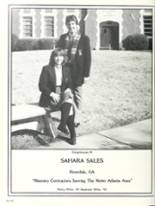 1984 Woodward Academy Yearbook Page 328 & 329