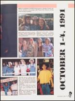 1992 Hall High School Yearbook Page 14 & 15