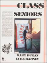 1992 Hall High School Yearbook Page 34 & 35