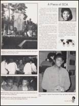 1992 Hall High School Yearbook Page 50 & 51