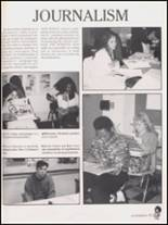 1992 Hall High School Yearbook Page 100 & 101