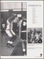 1992 Hall High School Yearbook Page 112 & 113