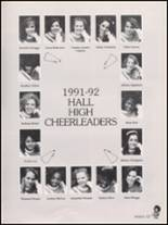 1992 Hall High School Yearbook Page 130 & 131