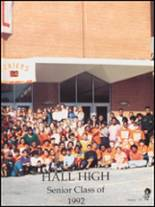 1992 Hall High School Yearbook Page 134 & 135