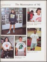 1992 Hall High School Yearbook Page 138 & 139