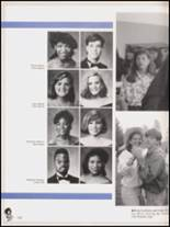 1992 Hall High School Yearbook Page 154 & 155