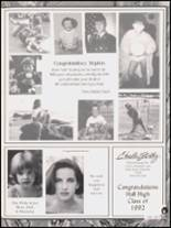 1992 Hall High School Yearbook Page 310 & 311