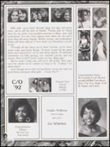 1992 Hall High School Yearbook Page 320 & 321