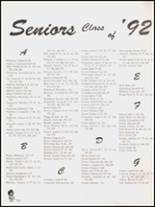 1992 Hall High School Yearbook Page 322 & 323