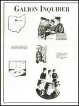 1983 Galion High School Yearbook Page 96 & 97