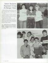 1987 Craig High School Yearbook Page 16 & 17