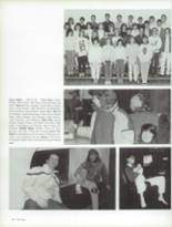 1987 Craig High School Yearbook Page 70 & 71